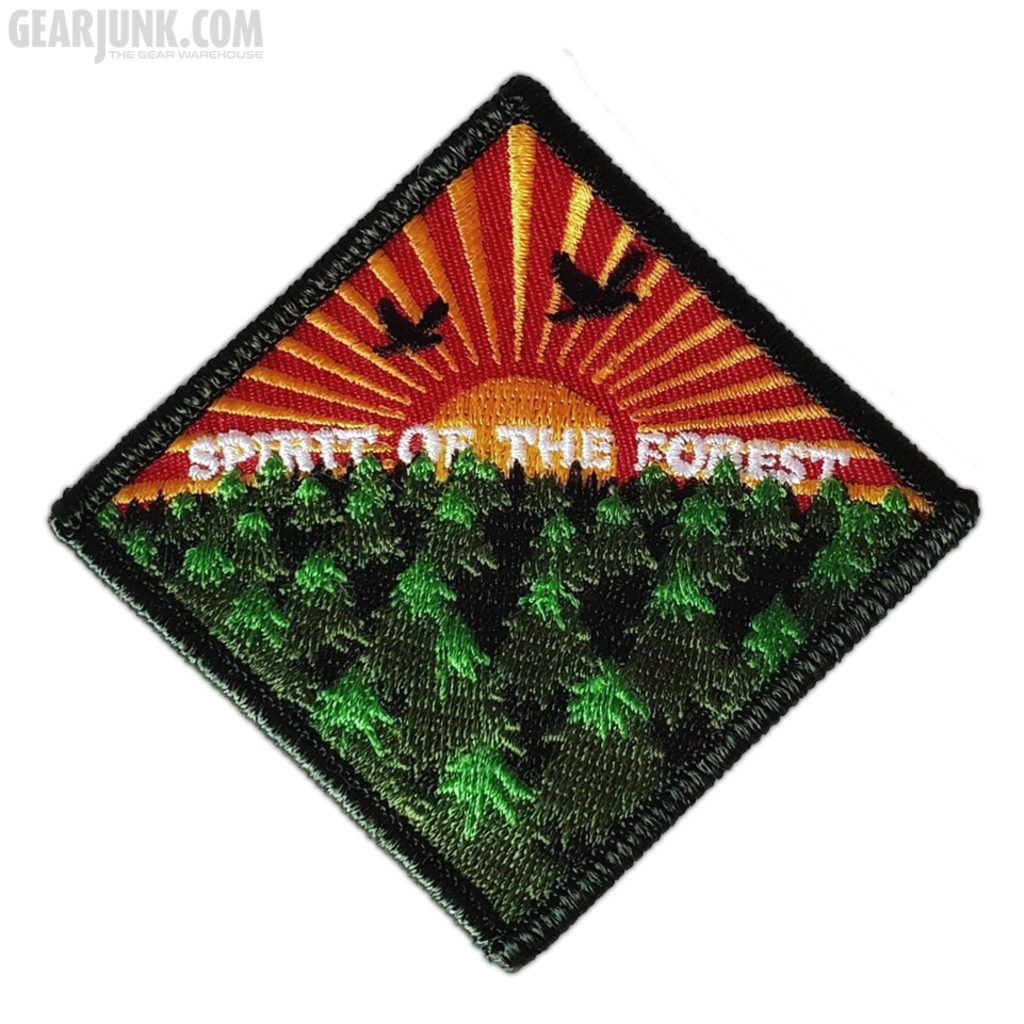 """Patch """"Spirit of the Forest"""" - Abendrot"""