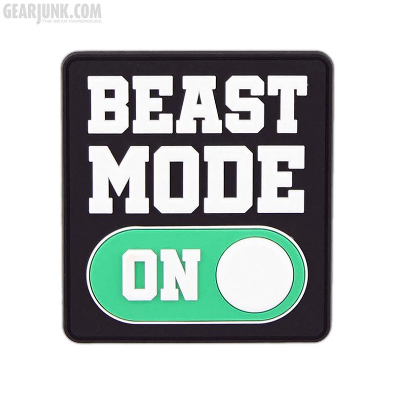 """Patch """"Beast Mode On"""""""