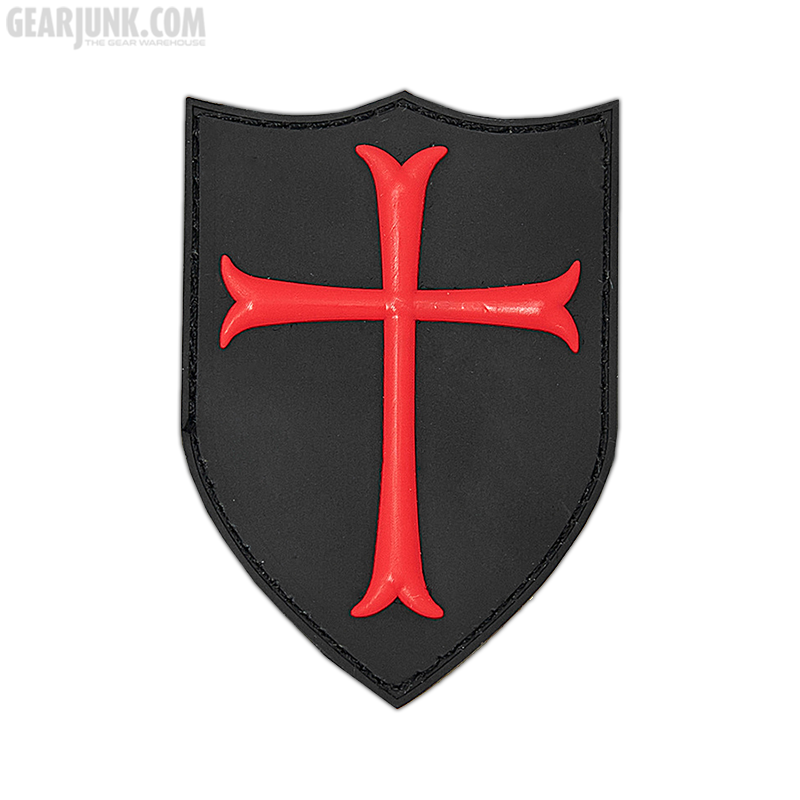 """Patch """"Crusader"""", rot"""