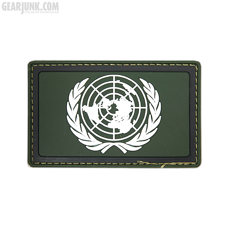 """Patch """"United Nations"""", oliv"""