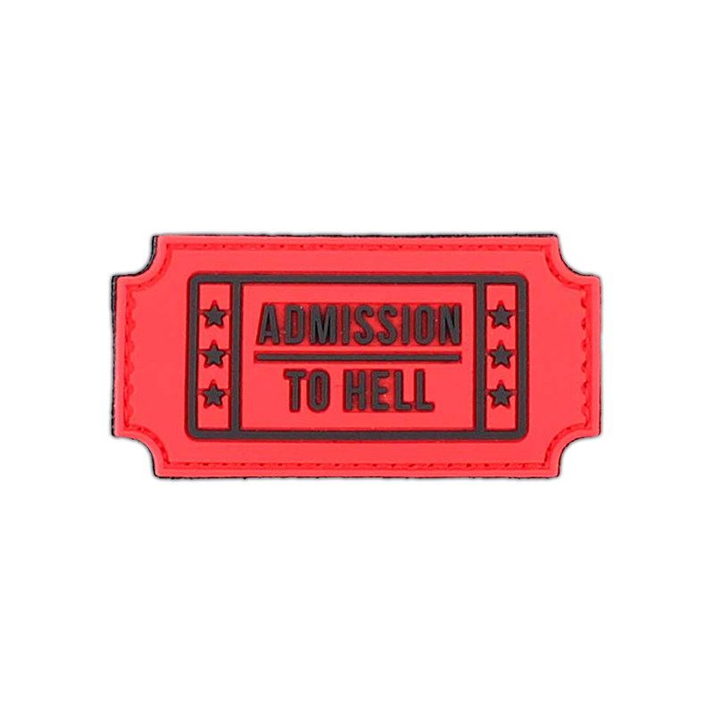 """Patch """"Admission to Hell"""", rot"""