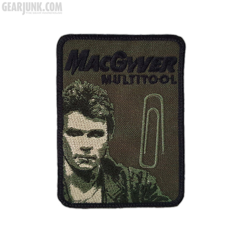 """Patch """"MacGyver"""", oliv"""