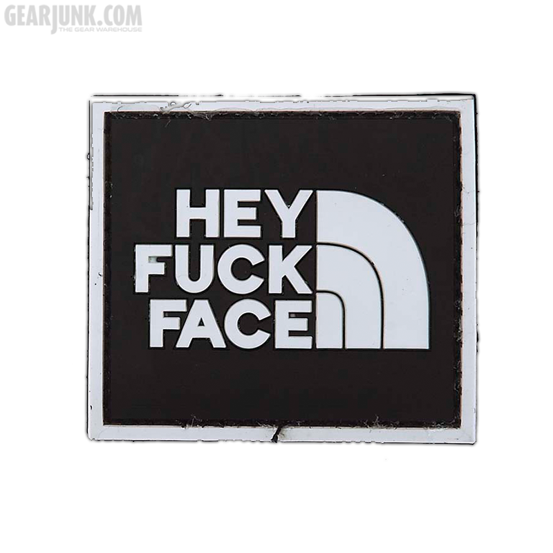 """Patch """"Hey Fuck Face"""""""