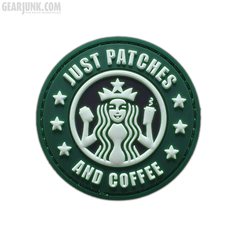 """Patch """"Just Patches and Coffee"""" [GID]"""