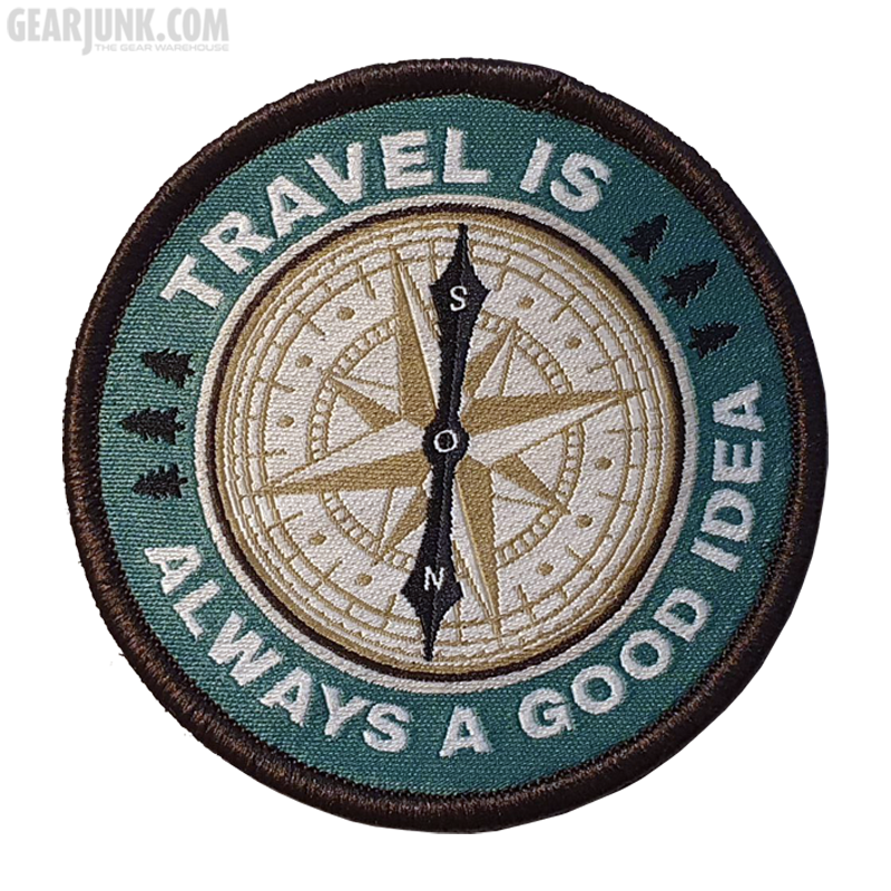 """Patch """"Travel is always a good Idea"""""""